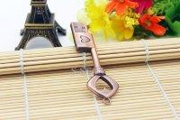 Флешка Ключ с сердцем 8-32Гб (медь)