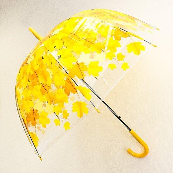 Зонт Листья зеленые - 3