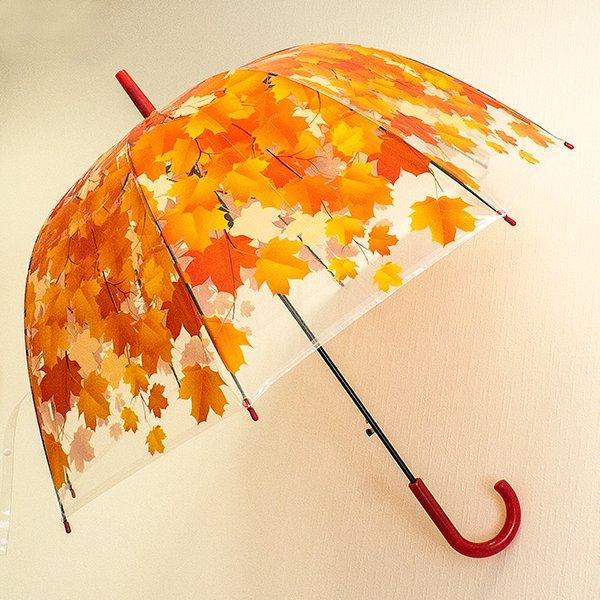 Зонт Листья зеленые - 4