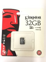 Карта памяти 32Gb microSD Kingston class10