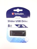 Флешка 8GB Verbatim Slider USB 2.0