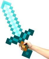 Алмазный меч из Майнкрафт (Minecraft) 60 см